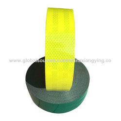 도로 안전을%s PVC+Pet 노란과 녹색 사려깊은 테이프