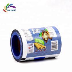 Bolsa de plástico semi-automático embalaje rollos de película de café o té rollos de película paquete
