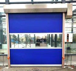 Медицинский склад высокоскоростной динамического ПВХ промышленные двери