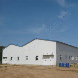 Tamanho grande de Alimentação Superior Design Estrutura personalizada do Prédio de Depósito prefabricadas