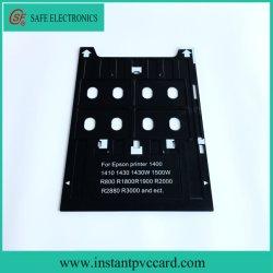 O PVC plástico da bandeja do cartão para a Epson 1400 impressoras a jato de tinta