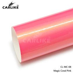 Commerce de gros de la Magie rose corail véhicule graphiques en vinyle auto voiture film vinyle d'enrubannage