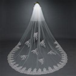 De hete Bruids Toebehoren Ts5504 van de Sluier van het Huwelijk van de Verkoop Lange Bruids