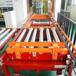 Trasportatore di vite d'acciaio della catena del rullo di alta efficienza con il rullo della flangia