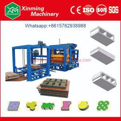 Qt4-15 Automatisch Concreet Blok die Machine/de Holle Machine van het Afgietsel van het Blok het Bedekken van de Koppeling het Maken van de Baksteen Machine voor Verkoop cementeren maken