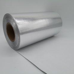 Un solo lado de la lámina de aluminio laminado de aislamiento térmico para el techo de tela tela tejida