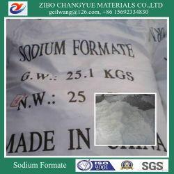Натрий Formate 95% 98% для промышленного класса Tannery из натуральной кожи
