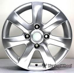 15 pulgadas Llanta de aleación de aluminio plateado con OEM y ODM: