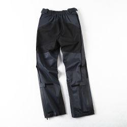 En el exterior de caucho de la presión de los pantalones de hombres y mujeres de la lluvia fina Single-Layer Windproof pantalones pantalones de esquí
