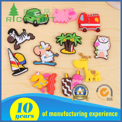 Promotie Gift Custom Cartoon Cute Strong 3d Soft Pvc Koelkast Deur Koelkast Magneet Voor Souvenir