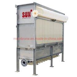 Ondergedompeld MBR-membraan voor afvalwaterbehandeling/Industrie ETP/Domestic Sewage/Landfill-percolaat/PVDF MBR-membraan/kruis Zie: Kubota en Toray