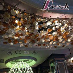 Отель Декоративное стекло висящих сломанных цвет подвесной светильник