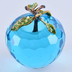 Hermoso colorido de vidrio Apple artesanías para regalo