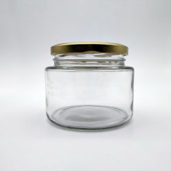 Vaso di vetro libero dell'alimento per il miele della frutta della salsa della marmellata d'arance