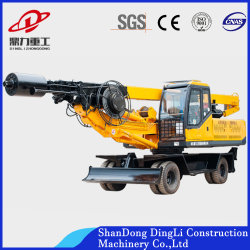 1-30m Depth Hydraulic Wheel Water Drilling/Digging Machine für Foundation Pile Construction/Engineering /Borehole Drill/Diamond Drilling /Geological Drilling