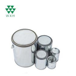 Blechdose-Chemikalie des Metall2l kann mit Kappe für Belüftung-Lösungsmittel-Kleber