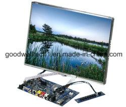 """12.1の"""" 4本のワイヤー抵抗タッチスクリーンが付いている開いたフレームLCDのモジュール"""