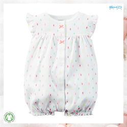Comedの綿の赤ん坊の衣服の夏の赤ん坊のロンパース