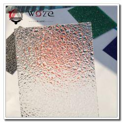 Vorm van de diamant kleurde PolyCarbonaat In reliëf gemaakte Bladen voor het Bouwmateriaal van de Decoratie