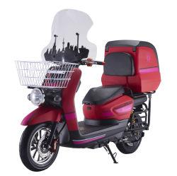 1500W72V de la batterie de silicium adulte Electric Dirt Bike, Pédale électrique moto avec pare-brise (EM-024)
