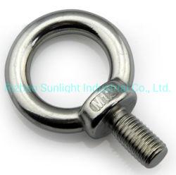Fabrication DIN DIN580582 les boulons à oeil SS316 gréement en acier inoxydable