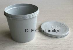 Taza de Mezcla de Pintura de plástico con tapa (0,2 litro).