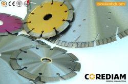 4 polegadas e 16 polegadas escova Turbo diamante com maior velocidade de corte rápido para tijolos, ardósia, concreto e alvenaria/Diamante soldadas a laser a lâmina da serra/Ferramenta de Diamante