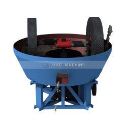ماكينة طحن الذهب ذات العجلات المزدوجة مطحنة الفولاذ مطحنة رطب