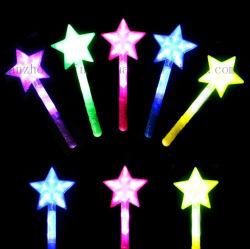 En forma de estrella ilumina el LED de OEM Stick para regalo promocional