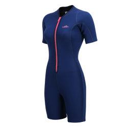 Women's Short Sleeve en néoprène 2mm pleine fonction de combinaison pour le surf