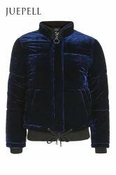 New Arrival Velvet Puffer Jacket