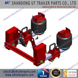 13 tonnellate dell'aria di sospensione di giro con il braccio gemellare della molla a lamelle per il rimorchio ed il camion