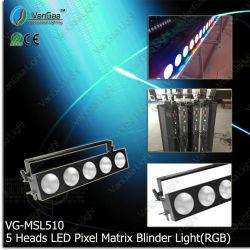 Vangaa 5 Heads RGB 3-in-1 LED Pixel Matrix Light (VG-MSL510C)