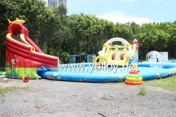 Jogos de água insufláveis água brinquedos do parque de diversões Combo