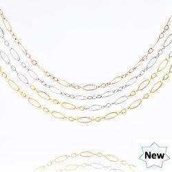 Nouvelle chaîne en acier inoxydable bijoux Fashion Necklace Bulkbuy dame de la chaîne de câble en relief la conception de bijoux