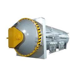 Certificado personalizado de alta presión ASME Industrial Compuesto de curado en autoclave la máquina para la fibra de vidrio de fibra de carbono