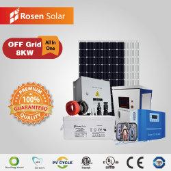 Grade de desligamento de alta qualidade 8Kw Produtos de Sistema de Energia Solar Fotovoltaica