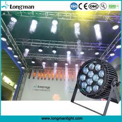 屋外9~58° ズームレンズ12*15W Ostar LEDの同価の軽い段階の照明