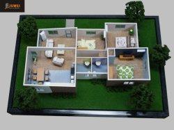 Architectuur Model van het Huis van Afrika (jw-266)