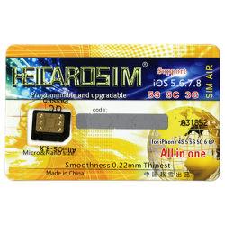 Heicaro micro SIM Nano sblocca la scheda per il iPhone 4S/5/5s/5c/6/6p dell'IOS 5.6.7.8