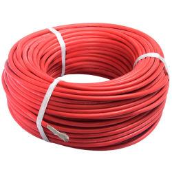Câble haute tension en caoutchouc de silicone 22AWG avec UL3239
