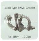 Tipo britânico acoplamento giratório forjadas
