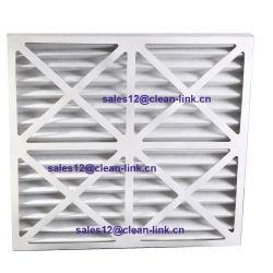Foldaway Papierrahmen-Filter-Ineinander greifen gefaltetes Netz