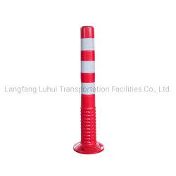 Polipropileno flexível rebote reflexivo Coluna de transporte com fundo redondo