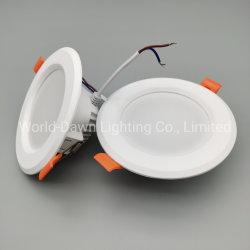 Coffret de vente en gros 6 W/ Blister d'emballage vers le bas LED lumière SMD2835 Mini Lumière au plafond intérieur à l'aide d'accueil vers le bas de la lumière avec 1 an de garantie