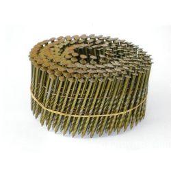 亜鉛メッキ円錐形コイル釘