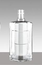 475ml de vidro transparente/vinho /álcool/bebidas espirituosas/Vidro Garrafa de vodka
