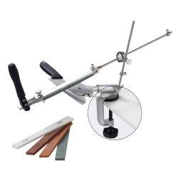 Cuchilla de acero inoxidable de 360 grados de rotación Fixed-Angle afilador Afilador de Cuchillos PRO RX-008 Afilador de Cuchillos de cocina profesional con 4 muelas