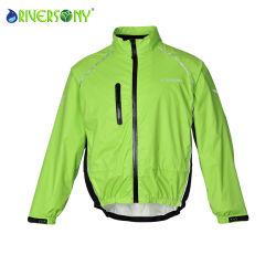 3 couches de tissu laminé Bicycle Wind Jacket