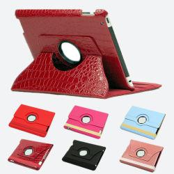 حقيبة جلدية دوارة بزاوية 360 درجة لجهاز iPad 3/iPad/iPad الجديد 2